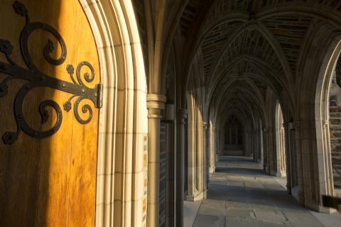 Duke Chapel Arcade