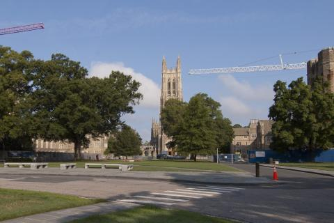 construction on west campus